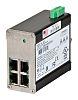 Red Lion Ethernet Switch, 4 RJ45 port DIN