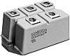 Semikron SKD 82/16, 3-phase Bridge Rectifier Module, 150A 1600V, 7-Pin G 36