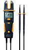 Testo 755-1, LCD Voltage tester, 600V, Continuity Check, Battery Powered, CAT 3 1000V With RS Calibration