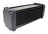 Takachi Electric Industrial AWN Black Aluminium Heat Sink Case, 220 x 86.3 x 86.3mm