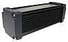 Takachi Electric Industrial AWN Black Aluminium Heat Sink Case, 200 x 65.8 x 65.8mm