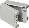Caja de Aluminio, 121 x 86 x 60mm, Gris, IP66, IP68, IP69