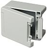 Bopla Bocube Alu, Light Grey Aluminium Enclosure, IP66,