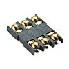 Molex, 47550 6 Way Micro Memory Card Connector