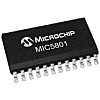 Microchip MIC5801YWM 8bit-Bit Latch, Transparent D Type, 24-Pin