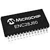 Microchip ENC28J60-I/SS, Ethernet Controller, 10MBps MII, MIIM,