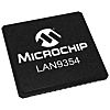 Microchip LAN9354/ML, 3-Port Ethernet Switch IC, RMII, 10