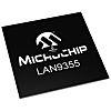 Microchip LAN9355/ML, 3-Port Ethernet Switch IC, MII/RMII/Turbo