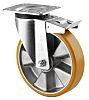 Rueda giratoria con freno Tente, carga 600kg, diámetro de rueda 200mm