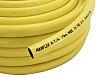 RS PRO PVC Flexible Tubing, Yellow, 17.5mm External Diameter, 50m Long, Reinforced, 100mm Bend Radius, Water