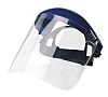 Sibille Clear Flip Up PC Face Shield with Brow Guard , Resistant To Molten Metal