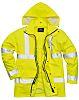 RS PRO Yellow Men Hi Vis Jacket, XXXL