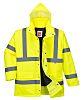RS PRO Yellow Men Hi Vis Jacket, L
