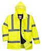 RS PRO Yellow Men Hi Vis Jacket, XXL