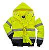 RS PRO Yellow Men Hi Vis Jacket, M