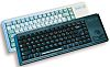 Cherry Trackball Keyboard Wired PS/2 Compact, QWERTZ Black