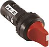 ABB 3 Position Short Handle Black Selector Switch