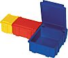 Licefa Blue ABS Compartment Box, 21mm x 29mm