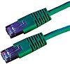 Roline Green Cat5e Cable S/FTP, 10m Male RJ45/Male