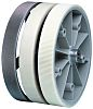 Baumer Encoder Wheel Circumference 20cm, 7mm Wheel Bore