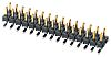 Samtec, TMM, 50 Way, 2 Row, Straight Pin