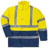 Delta Plus Yellow/Navy Unisex M Polyester Hi Vis