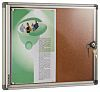 Planorga Notice Board Natural Cork, 470 x 640mm