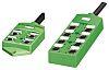 Phoenix Contact SACB-8/ 8-L- 5.0PUR SCO Series M12 Sensor Box, 8 Port, 5m Cable Length