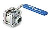 Spirax Sarco Stainless Steel 3 Way Ball Valve