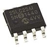 Microchip 25LC256-I/SN, 256kbit Serial EEPROM Memory, 50ns 8-Pin