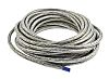 TE Connectivity Expandable Braided Copper Silver Cable Sleeve, 12.5mm Diameter, 100m Length, RayBraid Series