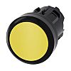 Siemens SIRIUS ACT Series, Yellow Push Button Head,