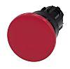 Siemens Mushroom Red Push Button Head - Momentary,