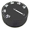 Selco Potentiometer Knob, Black, For Use With Thermostats