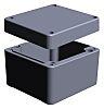 RS PRO Grey Aluminium Enclosure, IP65, IP66, IP67, IP68, 57 x 75 x 80mm ATEX, IECEx
