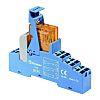 Finder, 110V ac DPDT-2C/0 Interface Relay Module, Push