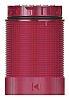 Werma KombiSIGN 40 Red LED Beacon, 24 V dc, Blinking, Base Mount