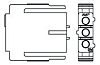 207360-1 - TE Connectivity Male Connector Housing -