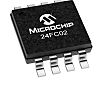 Microchip Technology 24FC02-I/MS EEPROM Chip