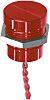 APEM Piezo-Schalter PBAR9AF6000, 200 mA @ 24 V dc, Einpoliger Ein/Aus-Schalter (SPST) IP68