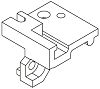 Harting 09 06 Series Fixing Bracket for use