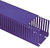 Betaduct Blue Slotted Panel Trunking - Open Slot,