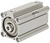 SMC Pneumatic Compact Cylinder 40mm Bore, 75mm Stroke,
