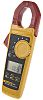 Fluke 325 AC/DC Clamp Meter, 400A dc, Max Current 400A ac CAT III 600V, CAT IV 300V With RS Calibration
