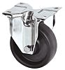 Tente Fixed Castor Wheel, 100kg Load Capacity, 80mm