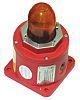 Moflash BC 150 Amber LED Beacon, 12 → 48 V dc, , Multiple Effect, Base Mount