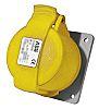 ABB, CMA IP44 Yellow Panel Mount 2P+E Industrial