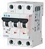 Mini megszakító (MCB) 3-pólusú, 1A, megszakítási teljesítmény: 10 kA, megszakítási karakterisztika: C típusú