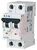 Eaton xEffect 2A MCB Mini Circuit Breaker2P Curve C, Breaking Capacity 10 kA