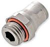 Legris Threaded-to-Tube Pneumatic Fitting M5 to Push In